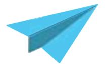 Endless Horizons logo paper plane